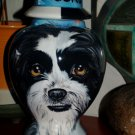 Custom Portrait MEMORIAL Pet URN DOG any breed cremation ASHES burial SHITZU