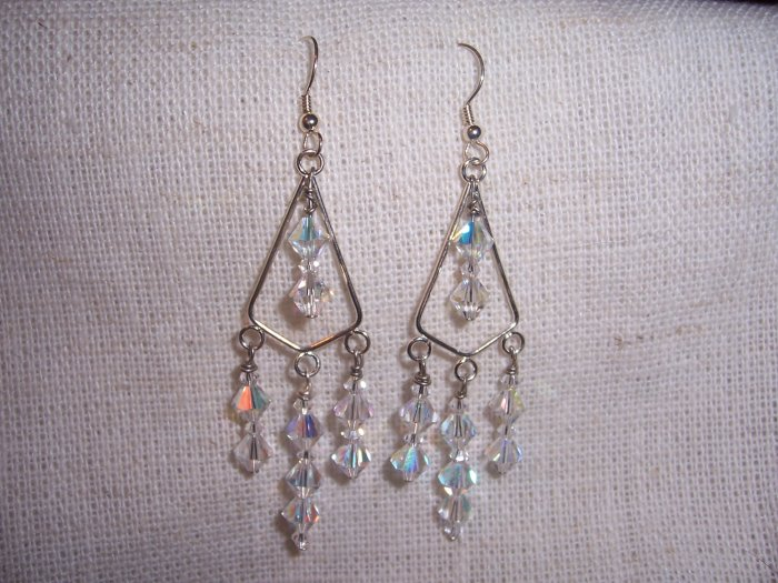 Swarovski AB Chandelier Earrings