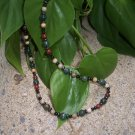 Bloodstone and multi stone Sterling Silver necklace by A Touch of Earth