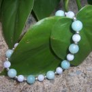 Blue Lace Agate and Amazonite bracelet by A Touch of Earth