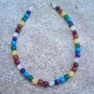 Chakra Rainbow Sterling Silver bracelet by A Touch of Earth