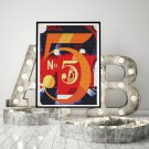 A Figure 5 in Gold Cross Stitch KIT by Charles Demuth