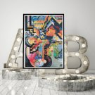 Colored Composition Homage Cross Stitch Chart by August Macke
