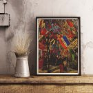 The Fourteenth of July Celebration in Paris Cross Stitch Chart by Vincent Van Gogh