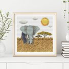 Pride of Africa Cross Stitch Chart