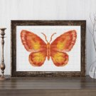 Butterfly Series: The Flame Cross Stitch Chart