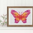 Butterfly Series: The Sunset Cross Stitch Chart