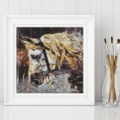 The Head of a Horse Cross Stitch Kit by Giovanni Boldini