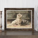West Highland Terrier Cross Stitch Chart by Herbert Dicksee