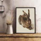 The Young Hare Cross Stitch Chart by Albrecht Durer