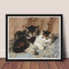 Best of Friends Cross Stitch Kit by Henriette Ronner Knip