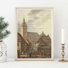 Cathedral of Turku Cross Stitch Kit by Carl Ludvig Engel