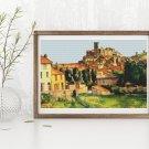 Garden Cross Stitch Chart by Paul Cezanne