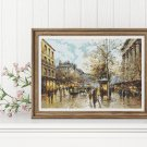 Flower Market Cross Stitch Kit by Antoine Blanchard