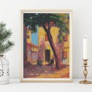 Landscape from Saint Tropez Cross Stitch Kit by Nicolae Darascu