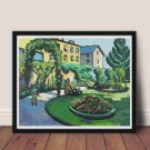 Garden Cross Stitch Chart by August Macke