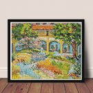 Provence Cross Stitch Chart by Vincent Van Gogh