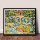 Provence Cross Stitch Kit by Vincent Van Gogh