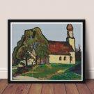 House Cross Stitch Kit by Gabriele Munter