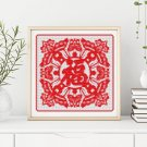 Luck, Peace and Good Fortune Cross Stitch Kit