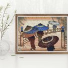 Rain Blossoms Cross Stitch Chart by Lilian May Miller