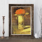 Flowers in Vase Cross Stitch Chart by Georges Seurat (MINI)