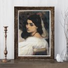 Pavonia Cross Stitch Kit by Lord Frederic Leighton (MINI)