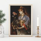 Yamatori Cross Stitch Chart by Alfred Stevens