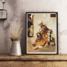 Pelt Merchant of Cairo Cross Stitch Chart by Jean Leon Gerome