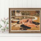 Sweet Nothings Cross Stitch Chart by John William Godward