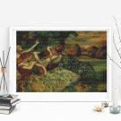 Four Dancers Cross Stitch Chart by Edgar Degas