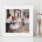 The Dance Class Cross Stitch Chart by Edgar Degas