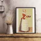 The Chocolate Pot Cross Stitch Kit by Jean Etienne Liotard