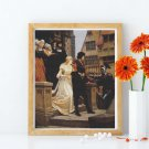 The Call to Arms Cross Stitch Chart by Edmund Blair Leighton