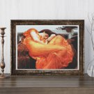 Flaming June Cross Stitch Kit by Lord Frederic Leighton