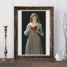 Ophelia Cross Stitch Chart by Pierre Auguste Cot