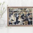Dance at Le Moulin de la Galette Cross Stitch Chart by Pierre-Auguste Renoir
