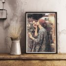 The Soul of the Rose Cross Stitch Chart by John William Waterhouse