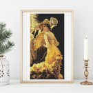 The Ball Cross Stitch Kit by James Tissot