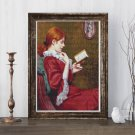 The Good Book Cross Stitch Kit by Federico Zandomeneghi