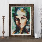 Gypsy Woman Cross Stitch Chart