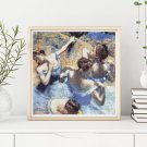 Blue Dancers Cross Stitch Kit by Edgar Degas