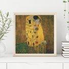 The Kiss Cross Stitch Chart by Gustav Klimt