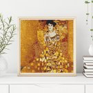 Portrait of Adele Bloch Bauer Cross Stitch Chart by Gustav Klimt