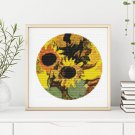 Sunflowers Cross Stitch Chart by Georges Braquethe