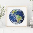 Earth Cross Stitch Chart