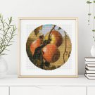 Apples Cross Stitch Chart by Thomas Worthington Wittredge