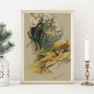 Wake When Some Vile Thing is Nearby Cross Stitch Kit by Warwick Goble