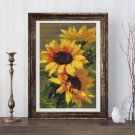 Sunflowers Cross Stitch Kit by Catherine Klein