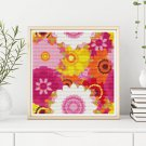 Summer Flowers Cross Stitch Chart